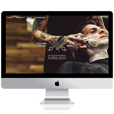 Diseño webs barbería