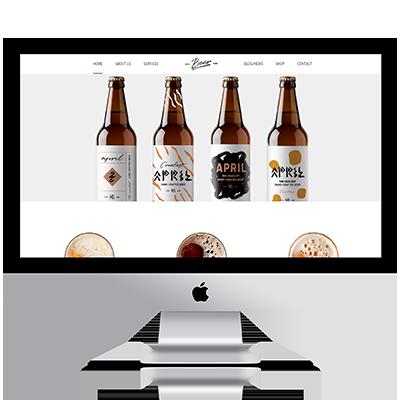Diseño web tienda cervezas