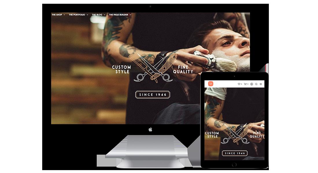 Diseño web Barbería