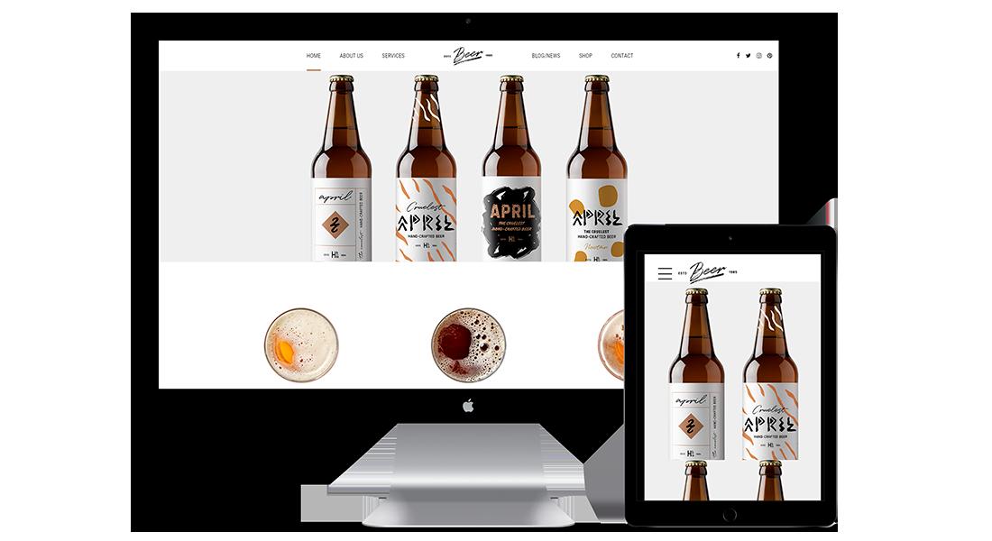 Diseño web responsive restaurante