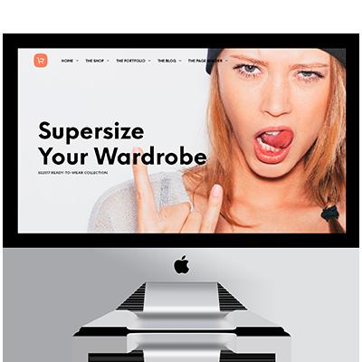 Diseño web tienda de moda